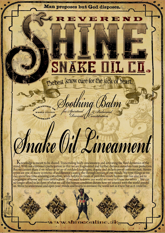 REVEREND SHINE SNAKE O...